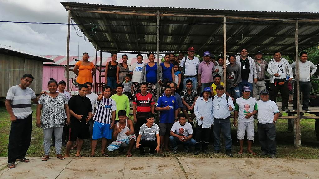 PEDAMAALC realizó visita de coordinación en las 25 comunidades beneficiarias del proyecto plátano y gallinas en el distrito de Urarinas - rió marañón.