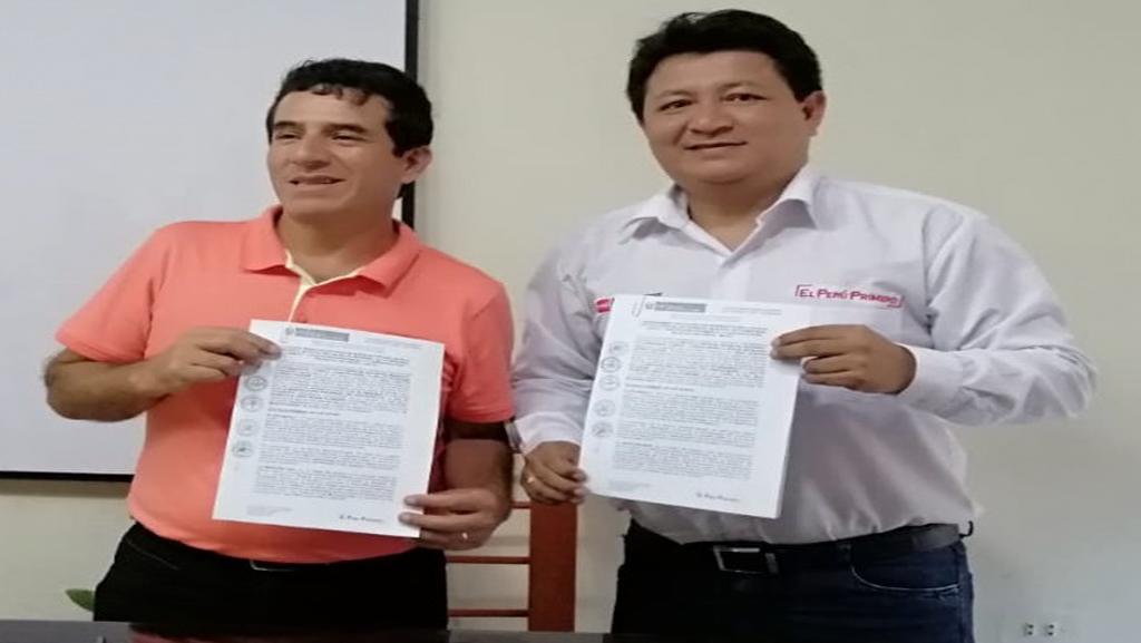 PEDAMAALC y la Municipalidad Provincial De Loreto - Nauta firmaron convenio marco para fortalecer el desarrollo productivo comercial de la actividad agropecuaria.