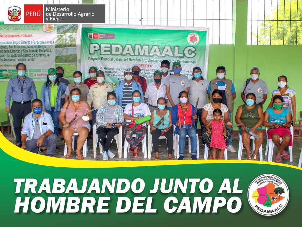 PROYECTO REFORESTACIÓN EN 7 CASERÍOS DEL EJE CARRETERO YURIMAGUAS – TARAPOTO CAPACITANDO A NUESTROS BENEFICIARIOS EN CONSERVACIÓN DE LOS BOSQUES Y PREVENCIÓN DE INCENDIOS FORESTALES.