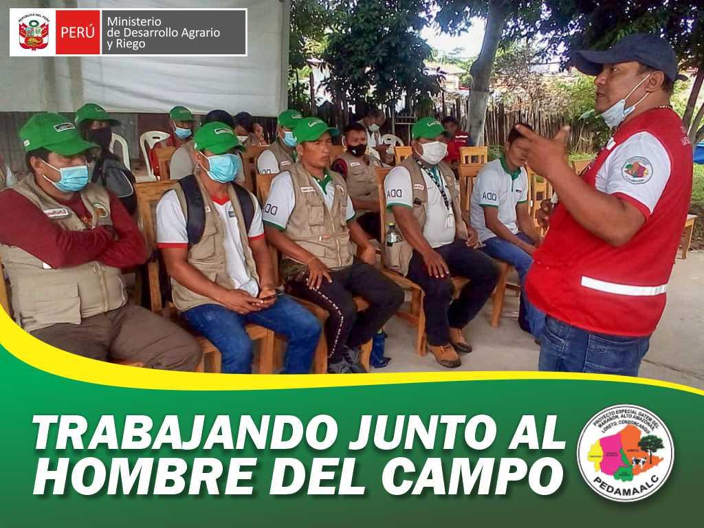 PROMOTORES DEL PROYECTO GALLINAS MEJORADAS DE URARINAS PARTICIPAN DE PASANTÍA DE REFORZAMIENTO DE CAPACIDADES EN SAN MARTÍN.