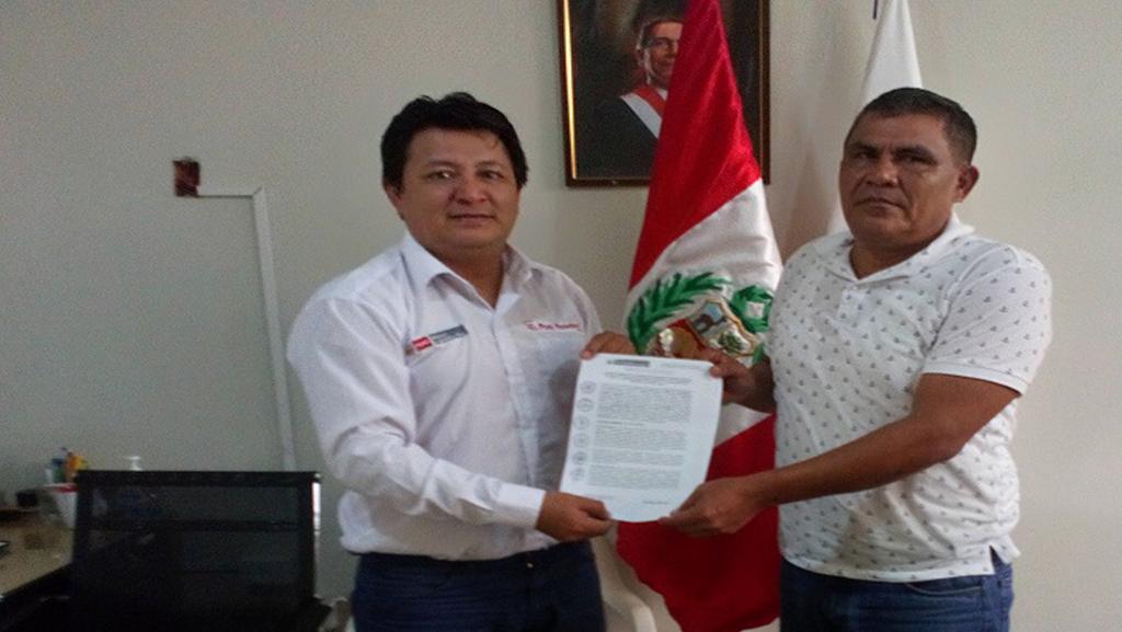 Mediante convenio PEDAMAALC y la Municipalidad Distrital de Santa Cruz trabajaran en el fortalecimiento del desarrollo productivo.